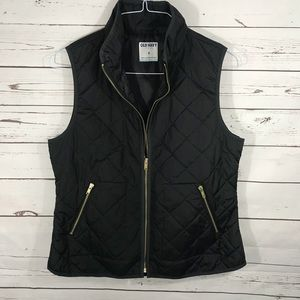 Old Navy Quilted Vest- Sz M